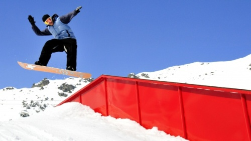 Snowpark Speikboden by F-Tech