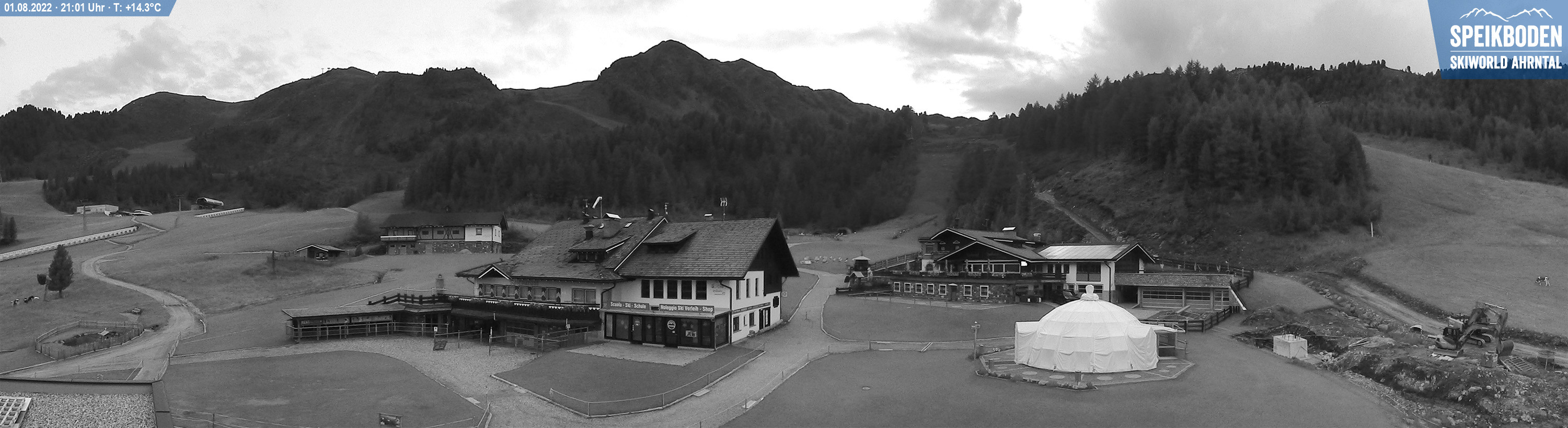 Webcam of the Speikboden in Valle Aurina