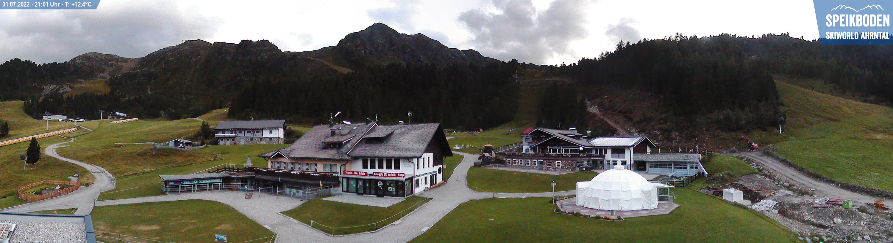 Webcam del Speikboden a Campo Tures