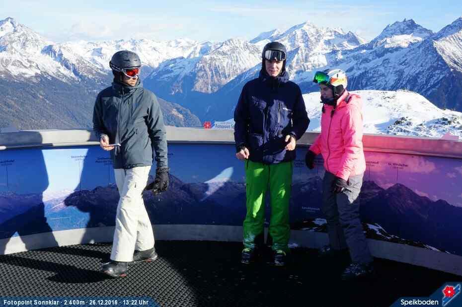 Fotopoint Skigebiet Speikboden